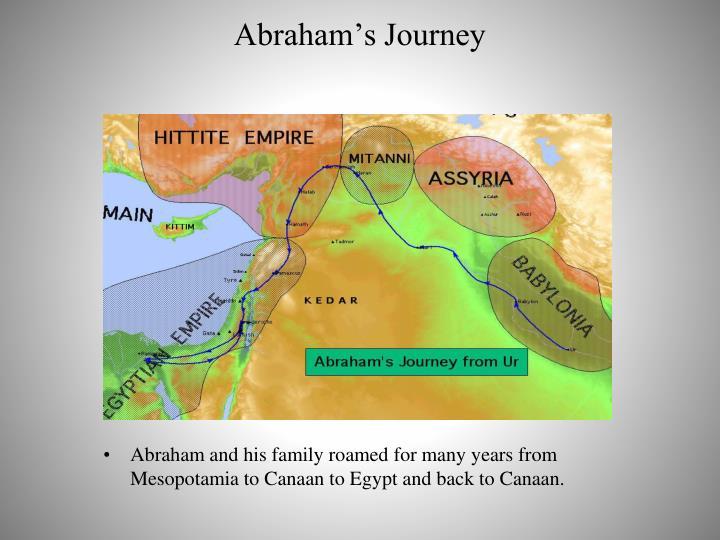 Abraham's Journey