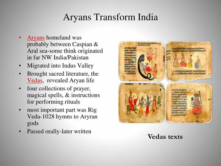 Aryans Transform India