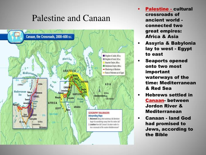 Palestine and Canaan