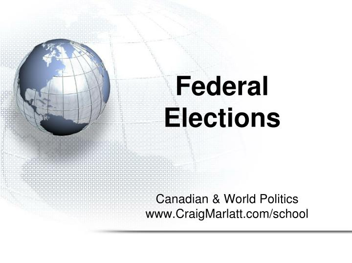 Federal elections
