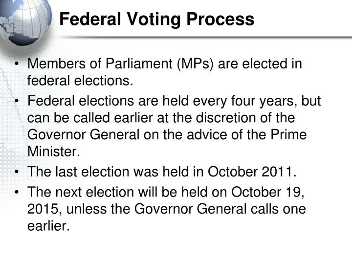 Federal Voting Process