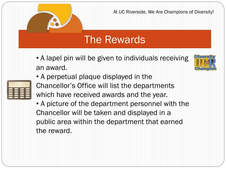 The Rewards