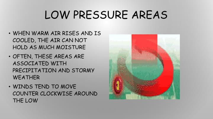 Low Pressure Areas