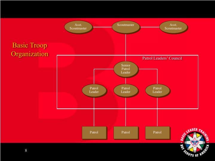 Basic Troop Organization