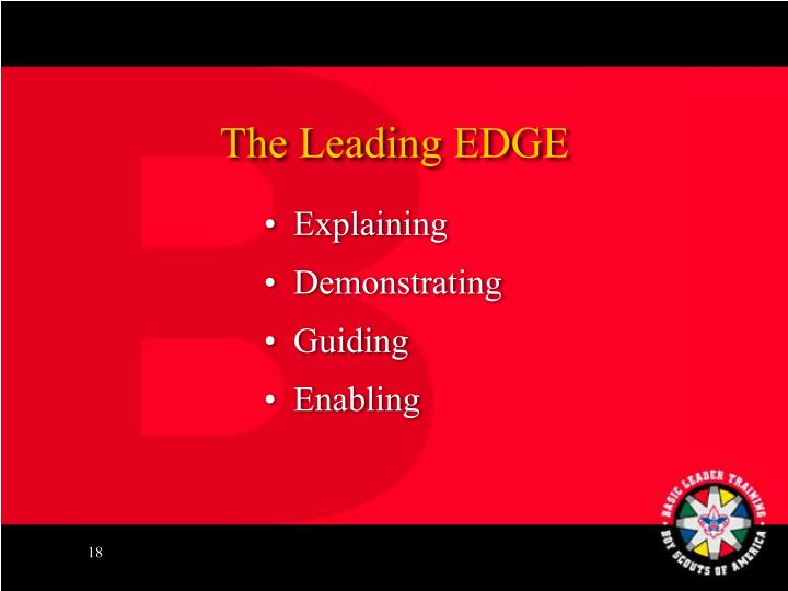 The Leading EDGE