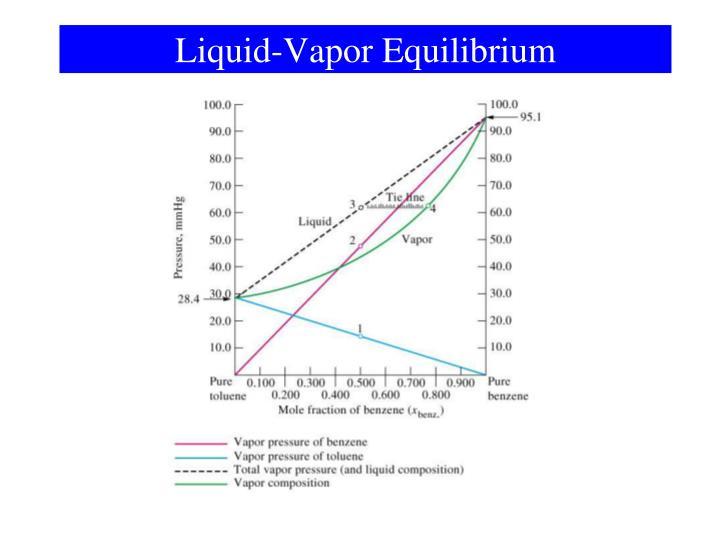 Liquid-Vapor Equilibrium