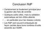conclusion rdp
