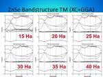 znse bandstructure tm xc gga