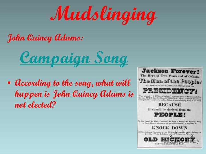 Mudslinging