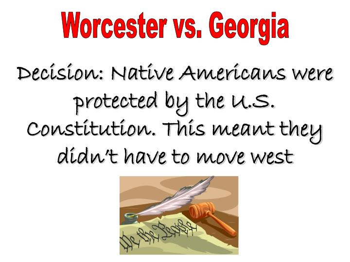 Worcester vs. Georgia