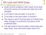 sr latch with nor gates1