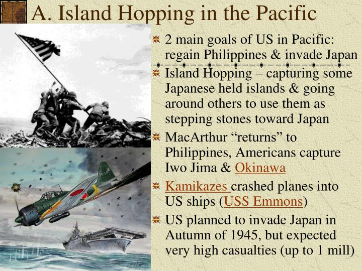 A. Island Hopping in the Pacific
