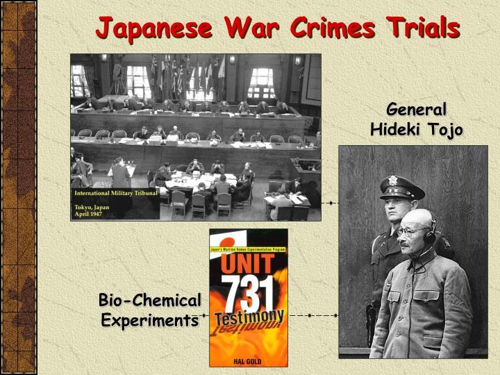 Japanese War Crimes Trials