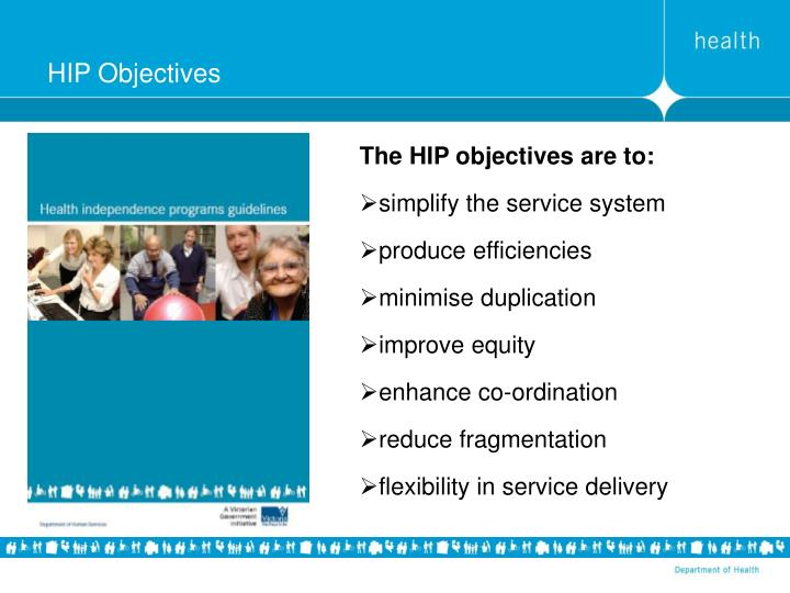 HIP Objectives