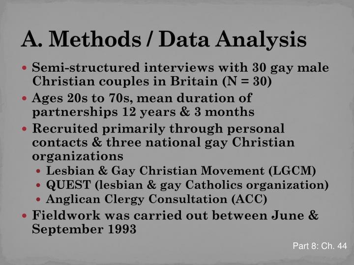 analysis of homosexual families Friendship between gay men and heterosexual women: an interpretative phenomenological analysis tina grigoriou families & social capital esrc research group.