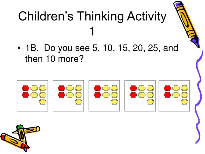 Children s thinking activity 1