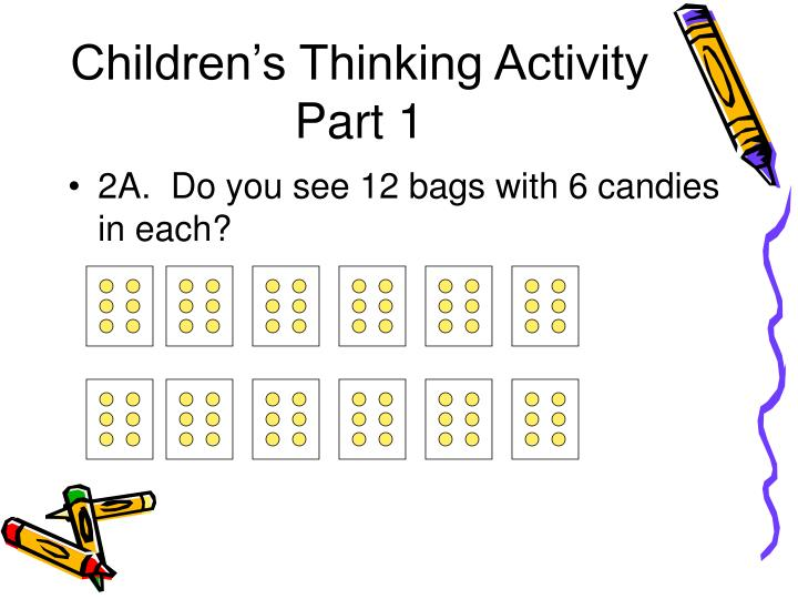 Children's Thinking Activity Part 1