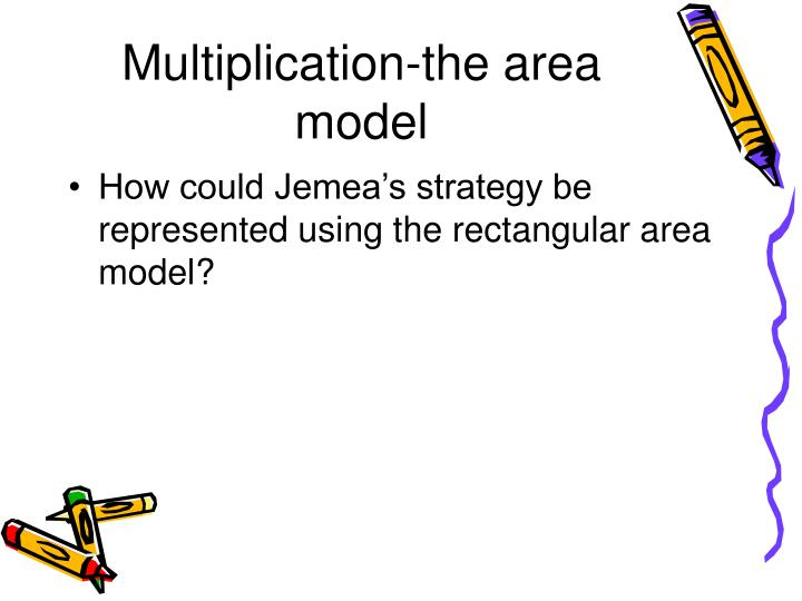 Multiplication-the area model