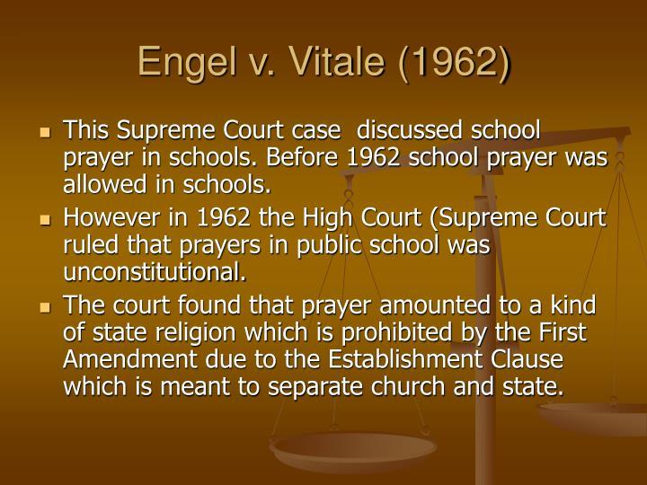 Engel v. Vitale (1962)