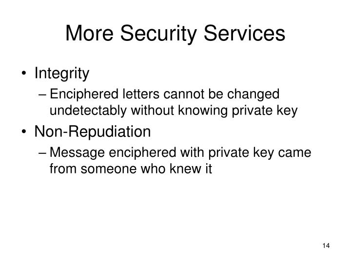 More Security Services