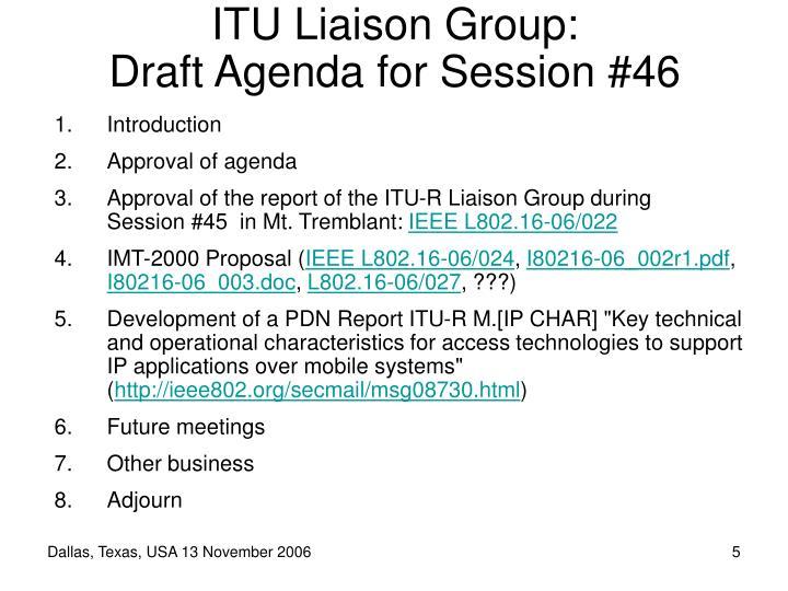 ITU Liaison Group: