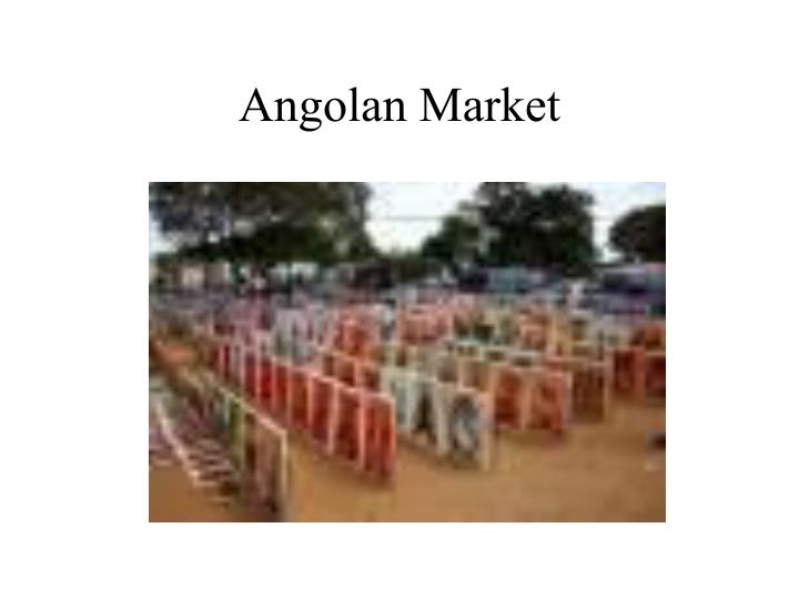 Angolan Market