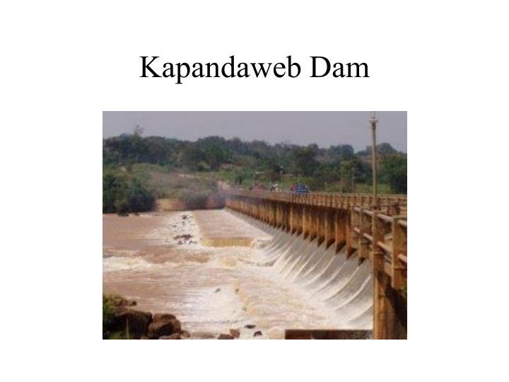 Kapandaweb Dam