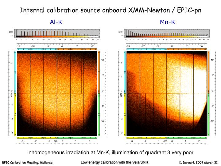 Internal calibration source onboard XMM-Newton / EPIC-pn