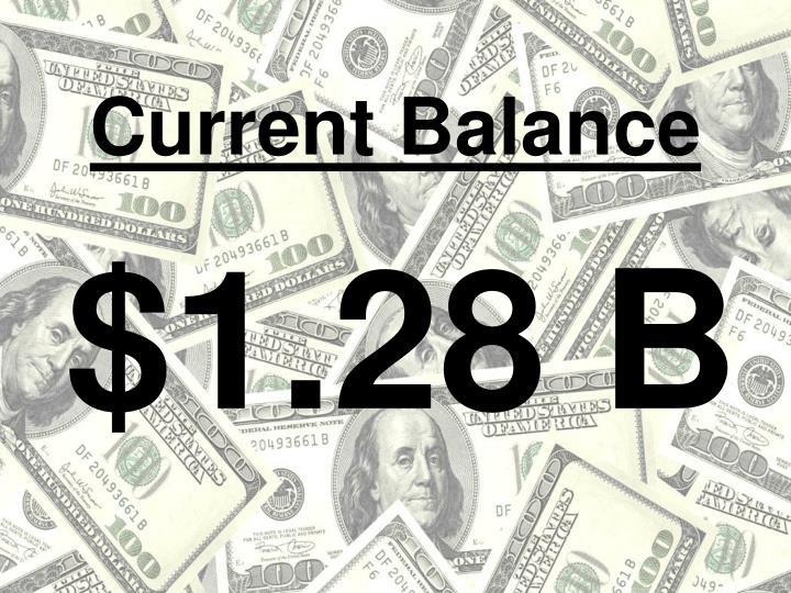 Current Balance