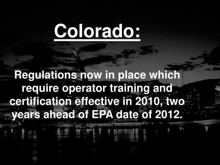 Colorado: