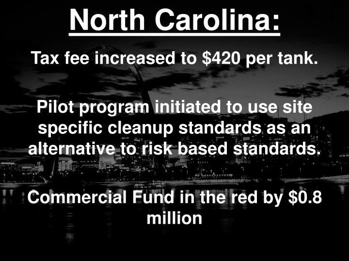 North Carolina: