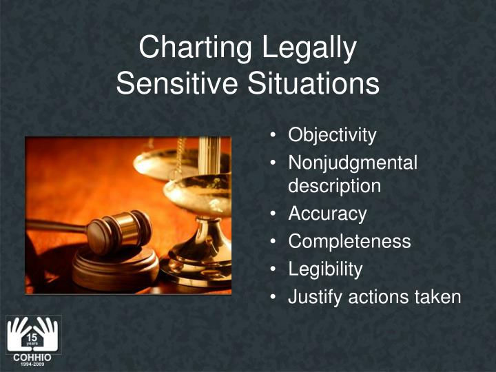Charting Legally