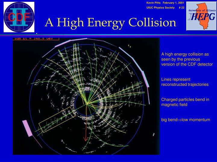 A High Energy Collision