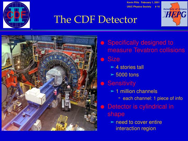 The CDF Detector
