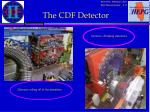 the cdf detector1