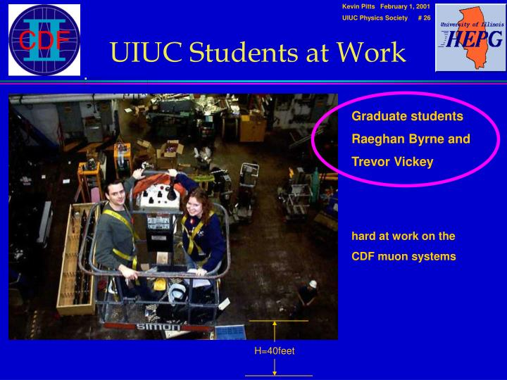 UIUC Students at Work