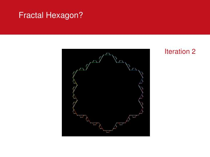 Fractal Hexagon?