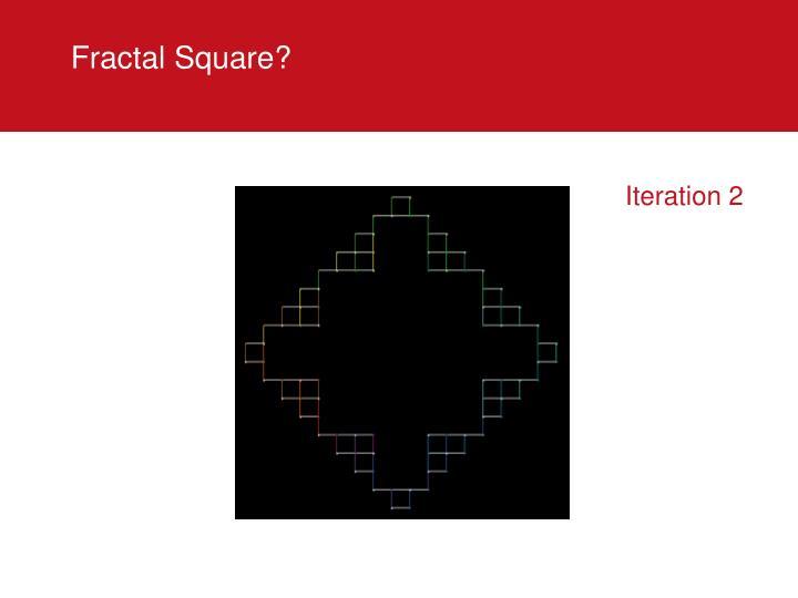 Fractal Square?