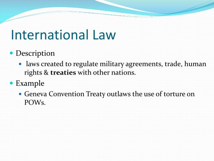 International Law