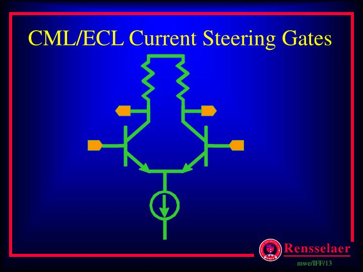 CML/ECL Current Steering Gates