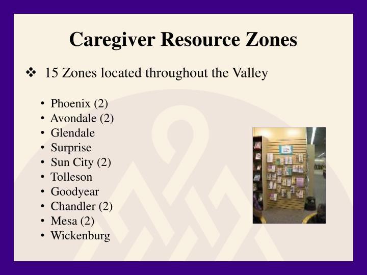 Caregiver Resource Zones