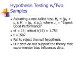 hypothesis testing w two samples17