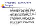 hypothesis testing w two samples2