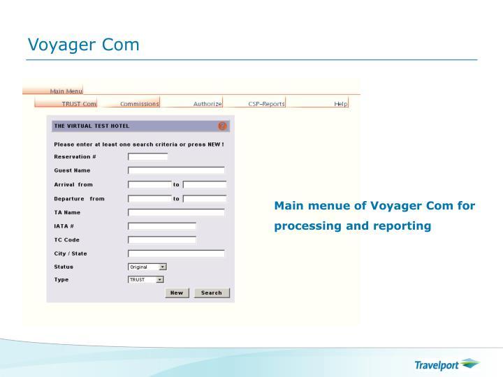 Voyager Com