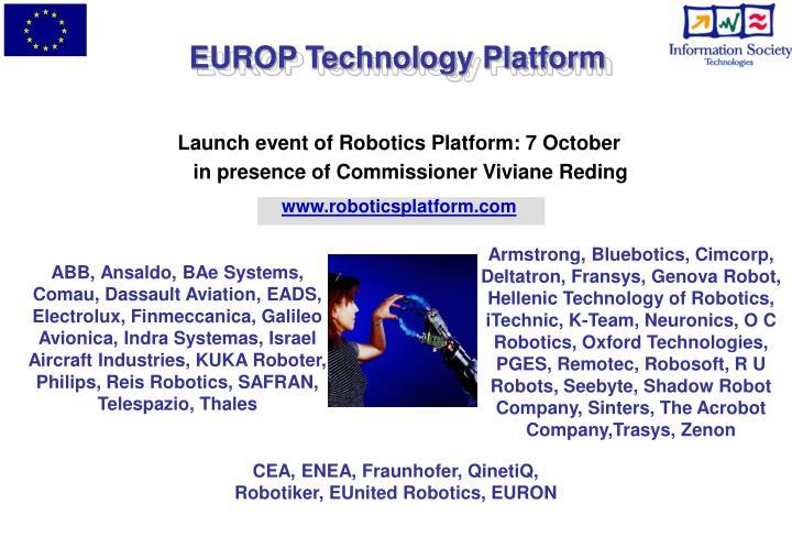 EUROP Technology Platform