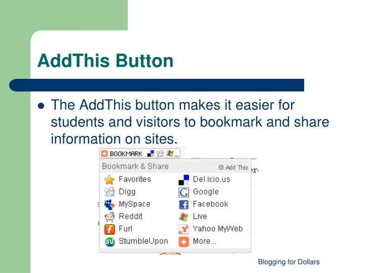 AddThis Button