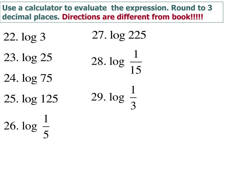 Use a calculator to evaluate  the expression. Round to 3 decimal places.