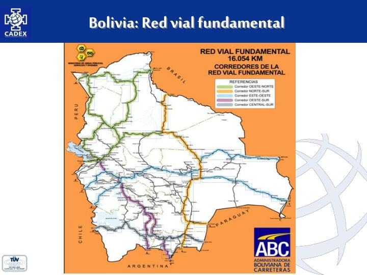Bolivia: Red vial fundamental