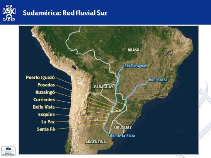 Sudamérica: Red fluvial Sur