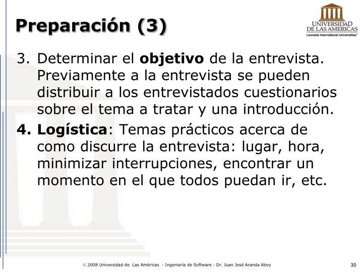 Preparación (3)